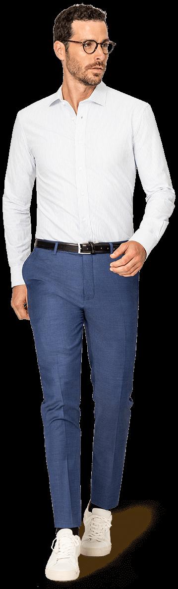 Chemise blanche coton