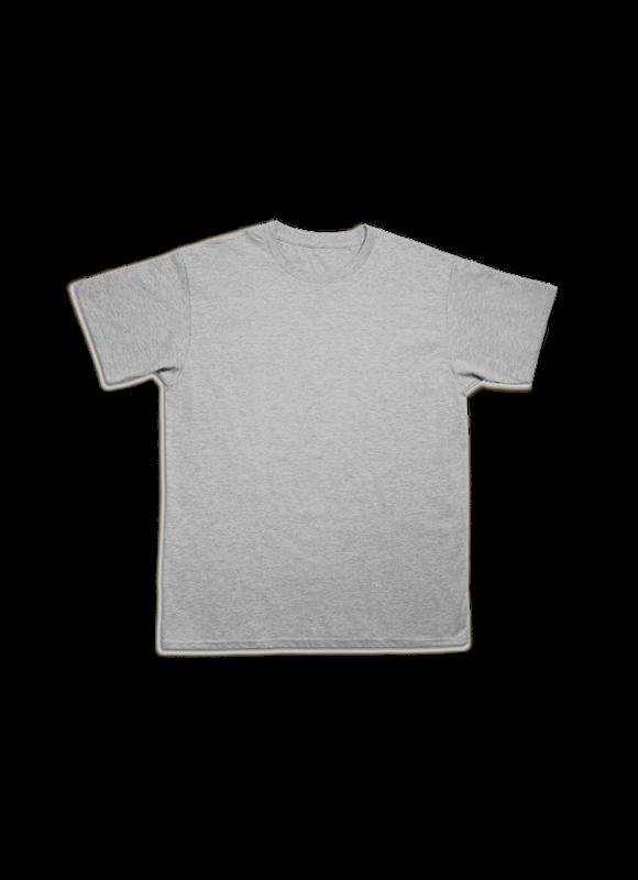 Grey Round Shirt