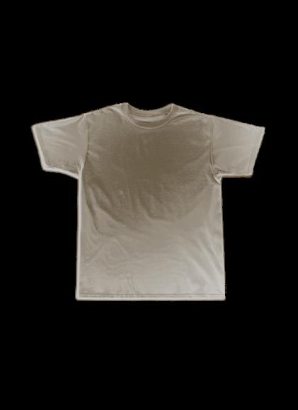 White Round Shirt
