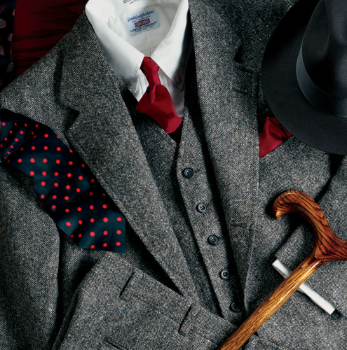 Fall is all about Tweed