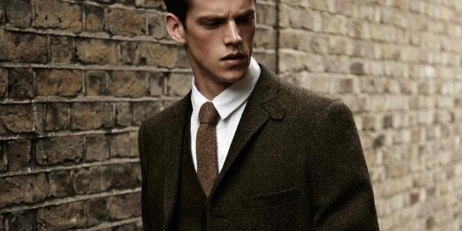 Tweed mens suit pic 1