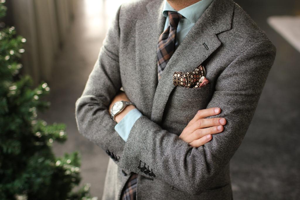 Tweed mens suit pic 2