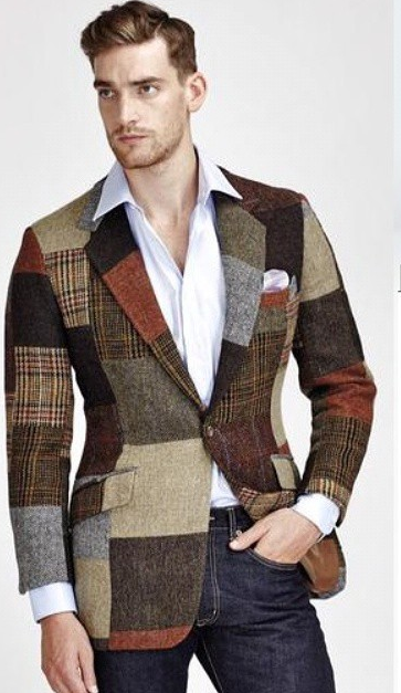 How to Rock Tweed (Without looking like a Grandpa)