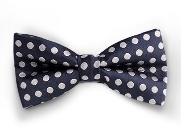 Bowtie Essential Blue Dotted