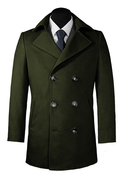 Green hockerty coat