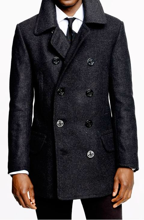 Pea coat_man