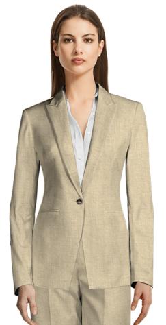 Beige Suit Kenya