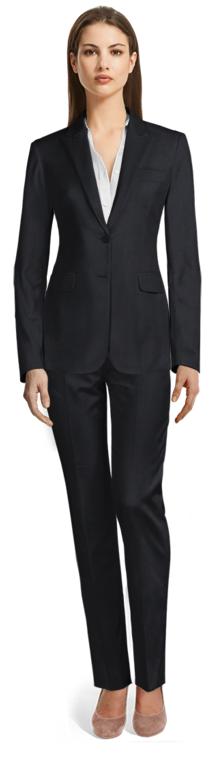 Ladson_Blue pant suit