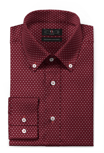 Red Hockerty button down