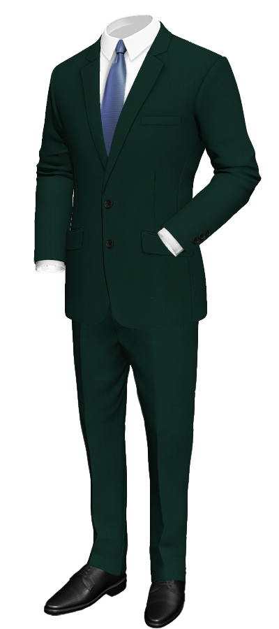 Green Wool Suit_