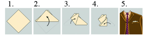 Three pocket