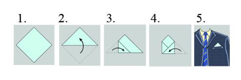 one pocket fold