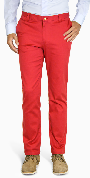 Red slim fit