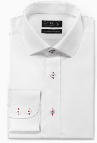 White oxford easy care Shirt
