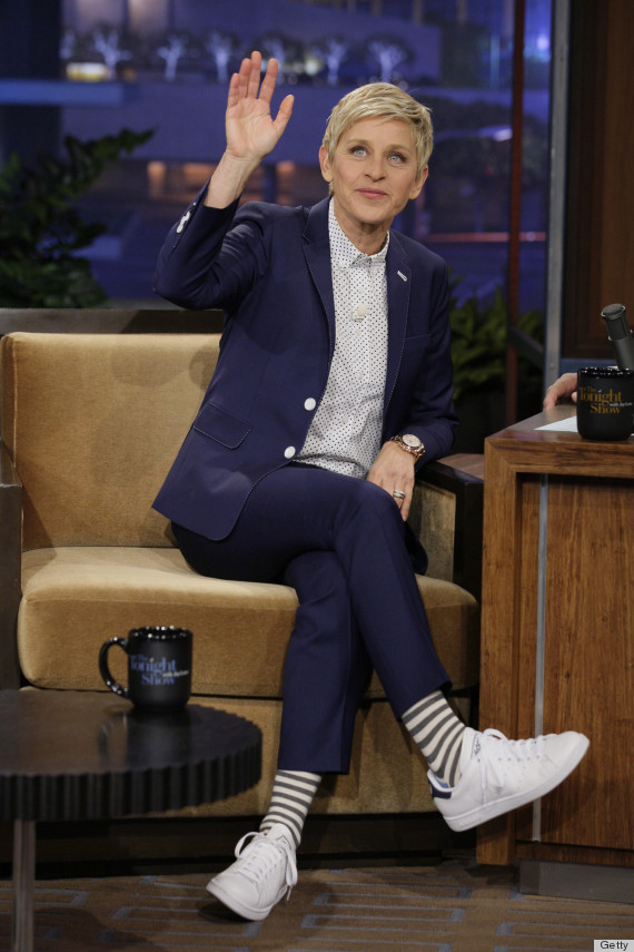 Female Suit Icon Ellen Degeneres Different Looks Sumissura