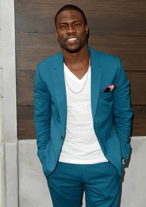 kevin hart green suit
