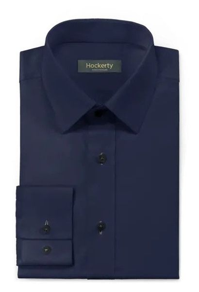 Premier Business Wear Blu o Bianca Spina Di Pesce Camicia di cotone 100/%