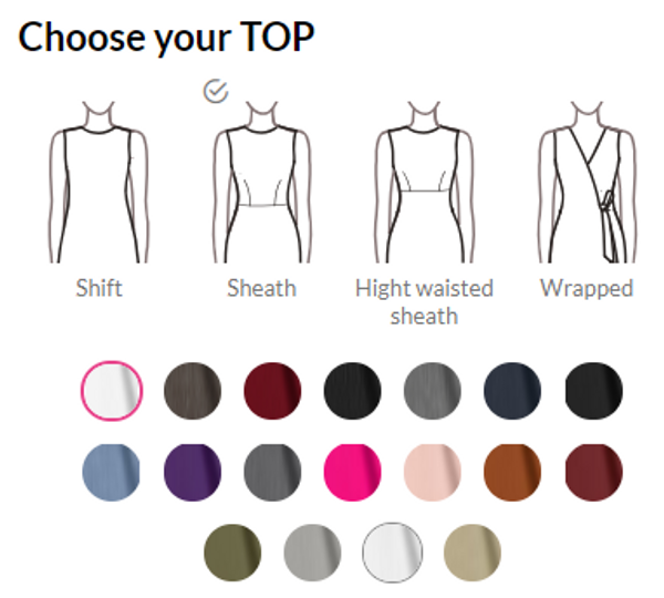 Women Dress Guide How To Find Your Dress Online Design It Sumissura