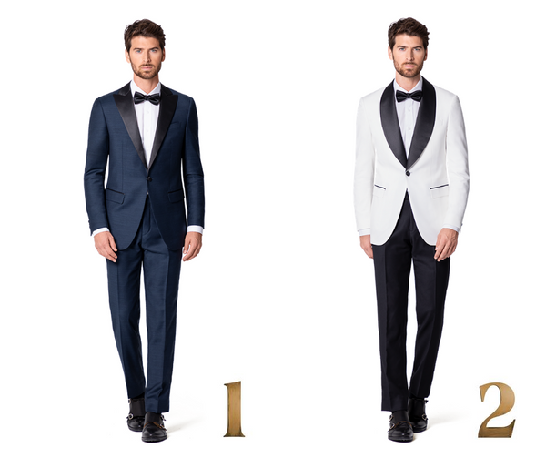 The Tuxedo Lapels Guide: Shawl vs Peak Lapel