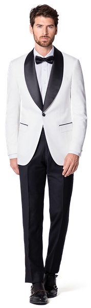 shawl lapel tuxedo