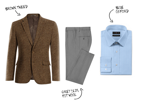 Comment porter le blazer en tweed ?