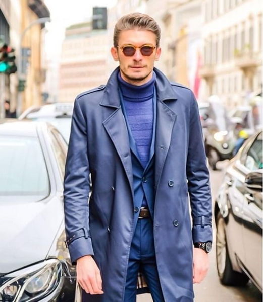 Trench Coat Guide - Wear it in navy, camel, black or grey this year