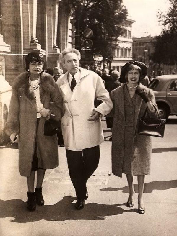 Jean Cocteau duffle coat