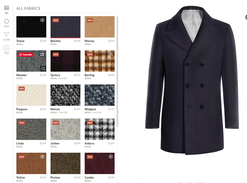 design your pea coat