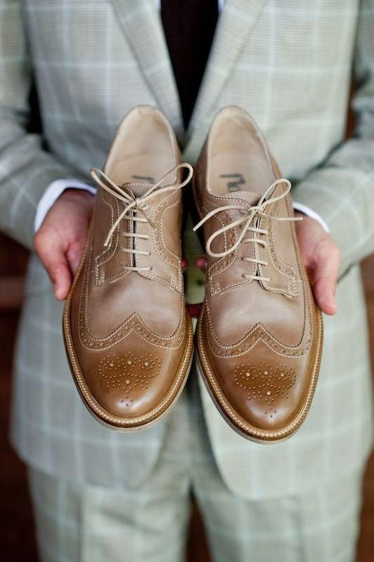How to Style Your Grey Suit with Brown Shoes