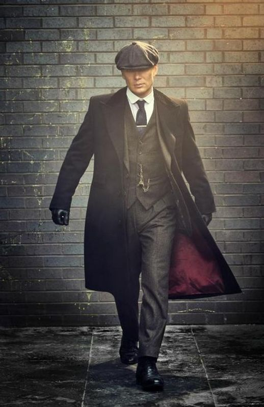 Long Wool Coat from Tommy Shelby