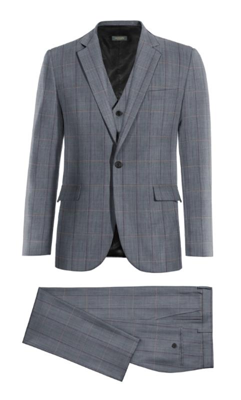 mcqueen 3 piece suit
