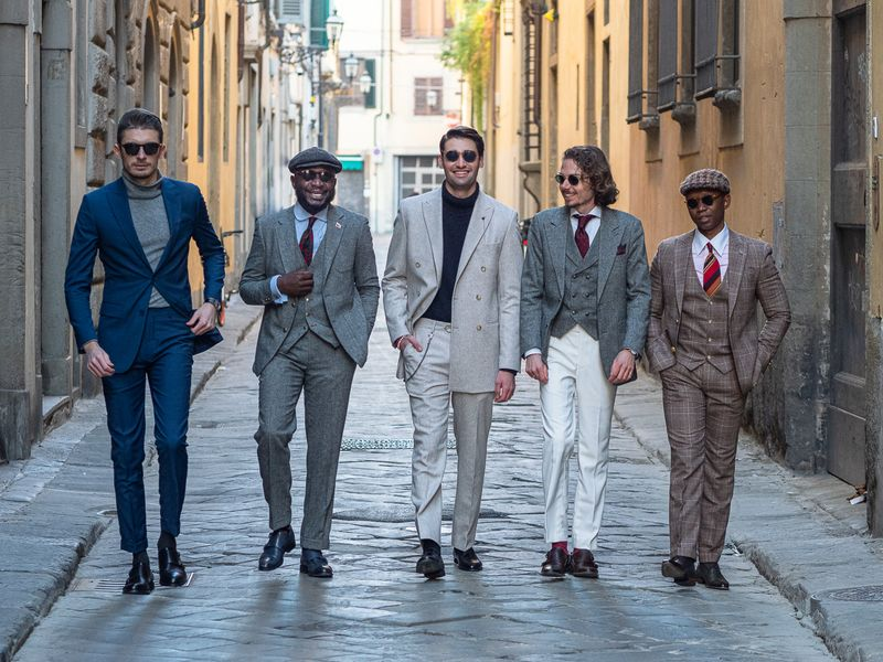 Los Mejores Vestidos en Pitti Uomo
