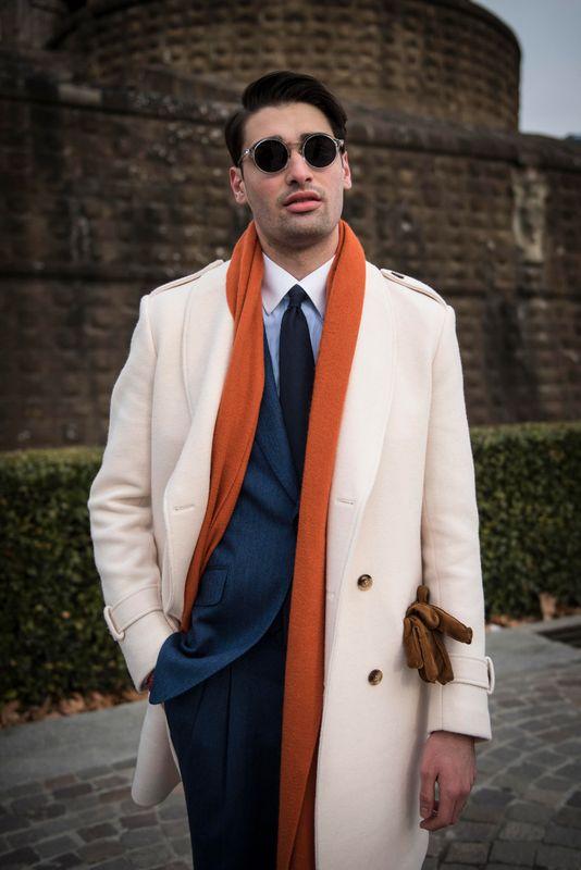 white overcoat for men