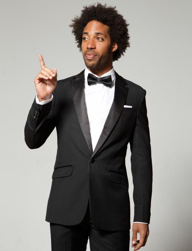 black men tuxedo