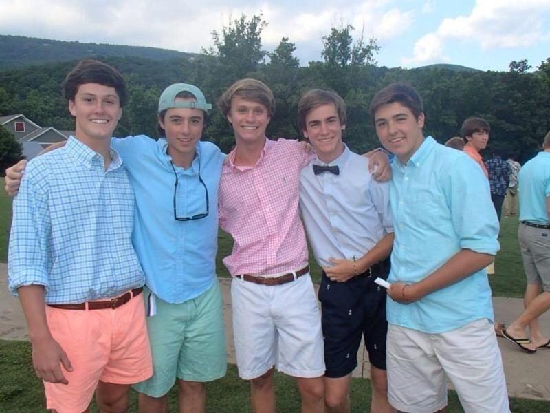 frat boy outfit