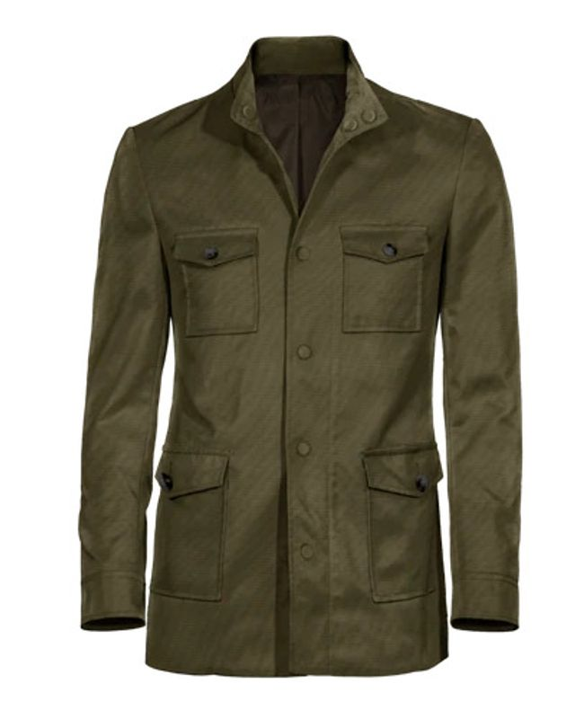field jacket green
