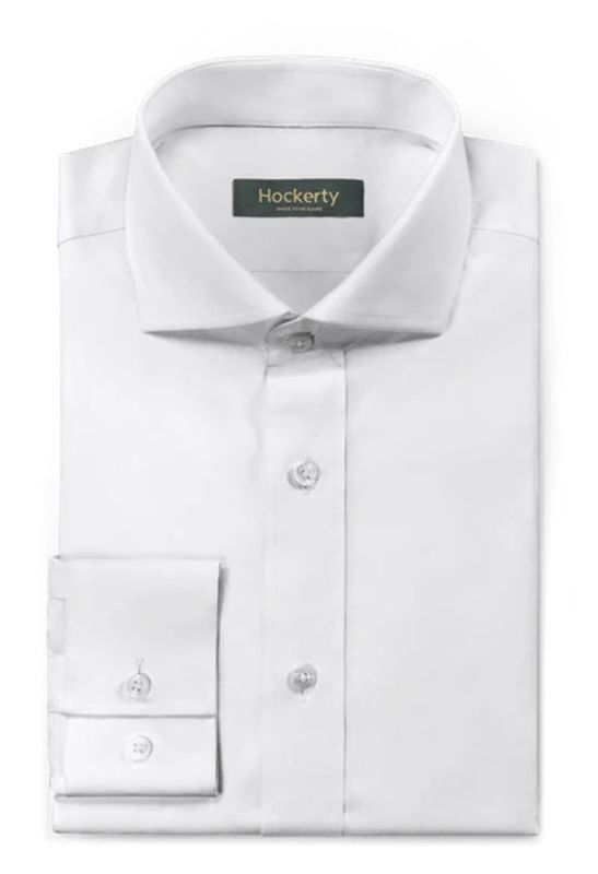 white dress shirt home office