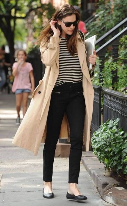 trenchcoat pariser chic stil