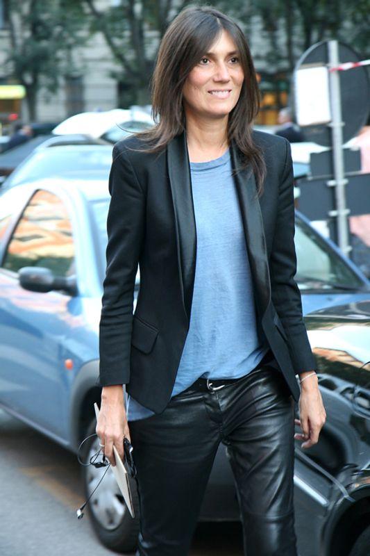 parisian french style tuxedo blazer