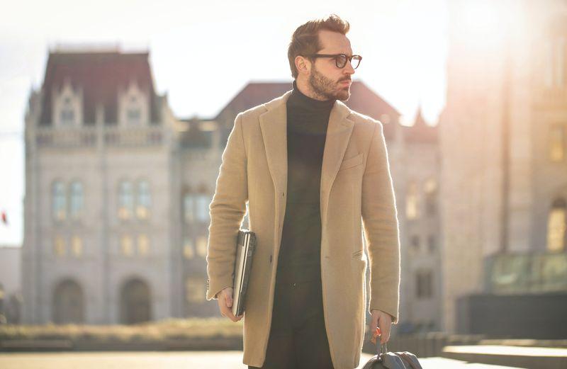 mens coat wool