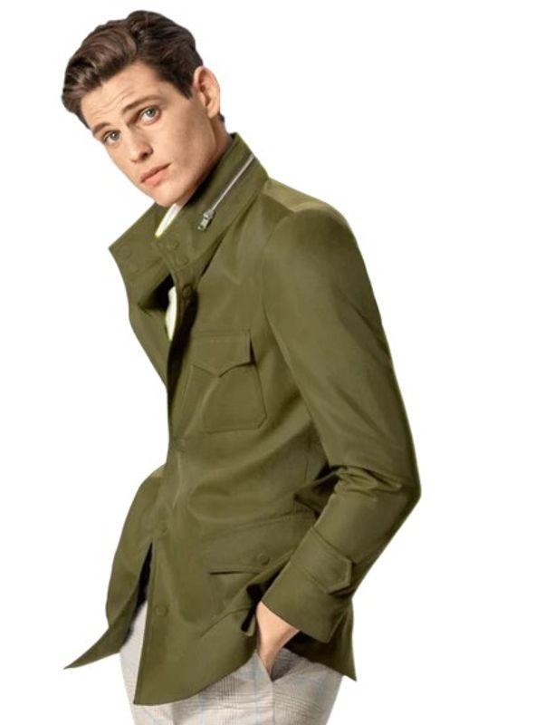 james bond field military jacket