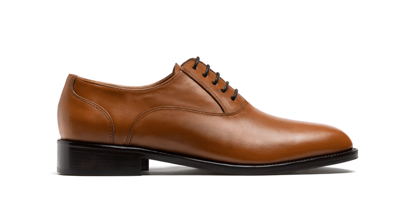 plan toe oxford schuhe