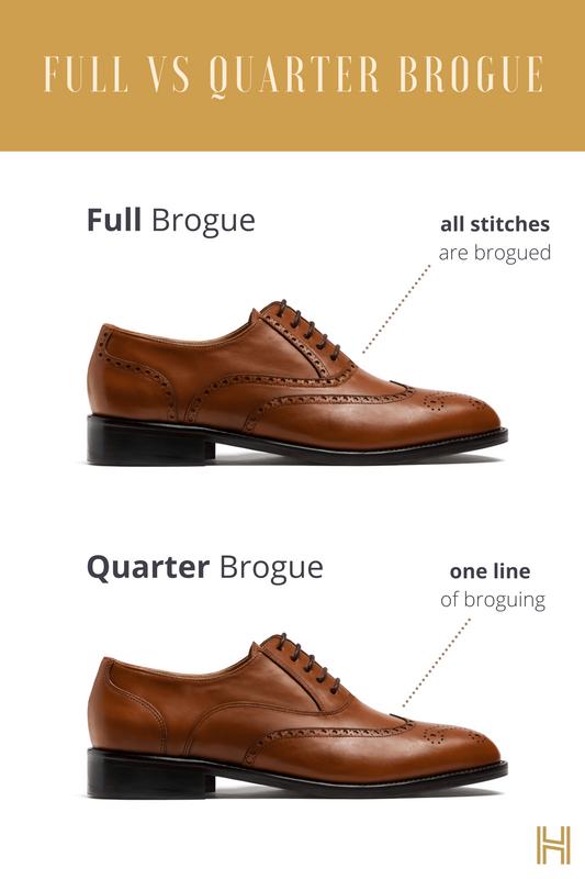 sull brogue shoes quarter brogue shoes