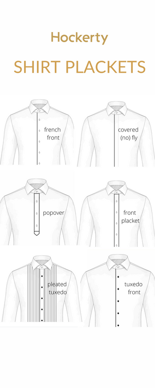 shirt plackets