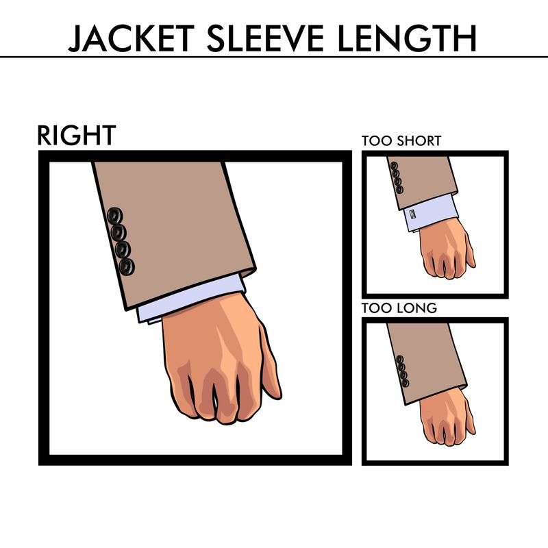 suit sleeve length