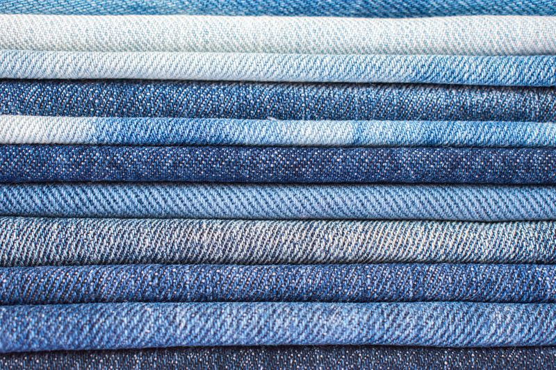 What are jeans made of?