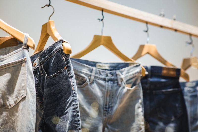 Wir Jeans hergestellt werden
