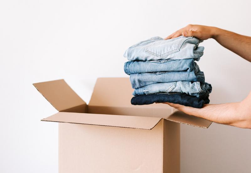 jeans verpackung