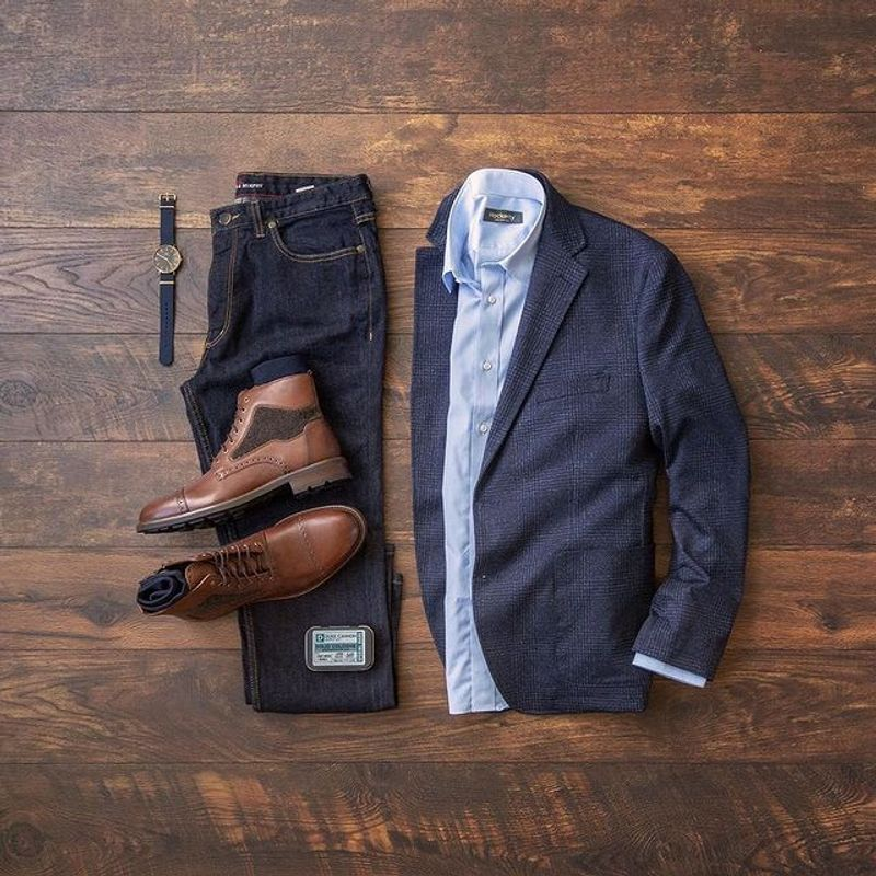 brown boots combination