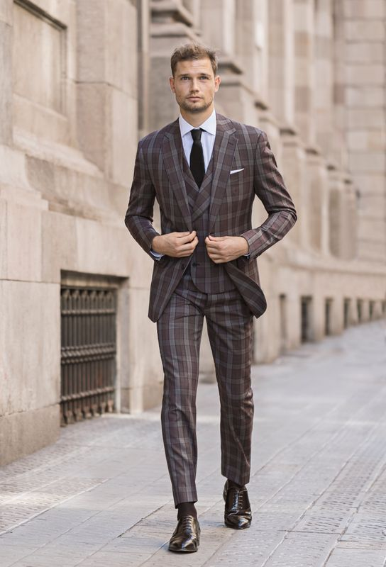 waistcoat with a suit